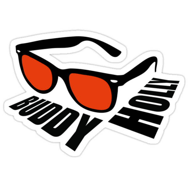 Buddy Holly by vrangnarr