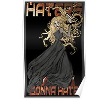 River Song: Haters Gonna Hate Poster