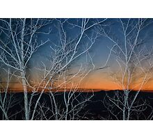 Sunset in Tuscany Photographic Print
