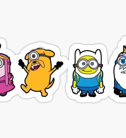 Time for a Minion Adventure Sticker