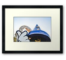 The Old Sorcerer's Hat Framed Print