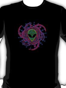 Psychedelic Alien - Dark T-Shirt