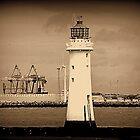 Perch Rock Lighthouse by Stan Owen