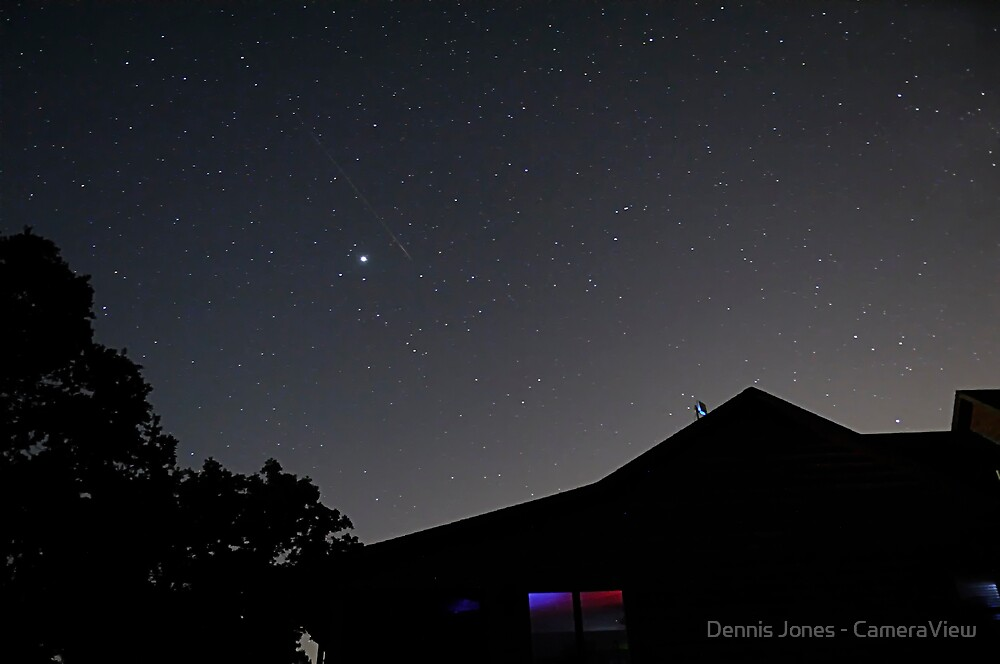 Persides over Rock Hollow Lodge by Dennis Jones - CameraView