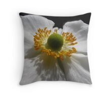 Pure As The Driven Snow Throw Pillow