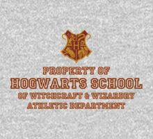 Property of Hogwarts Athletic Department by robertjpeterson