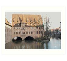 Beautiful building in Germany Art Print