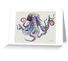 Octopus I Greeting Card