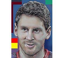 Leo Messi Photographic Print