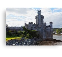 Castle on the River Canvas Print