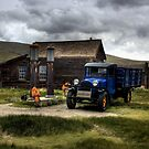 Shell Station in Bodie by danapace