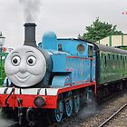 Thomas Waits For His Passengers ! by Colin J Williams Photography