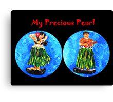 My Precious Pearl Canvas Print