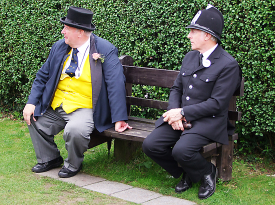 "The ""Fat Controller"", and The ""Long Arm of The Law"" by Colin J Williams Photography"