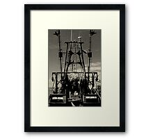 The Lena Pearl, Point Judith, RI, USA Framed Print