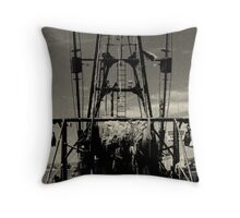 The Lena Pearl, Point Judith, RI, USA Throw Pillow