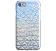 Bright Spaceship Earth iPhone Case/Skin