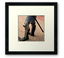 Knobbly Knees Competition Framed Print
