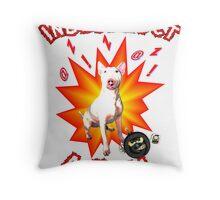 Indesctruct-a-Bull Throw Pillow