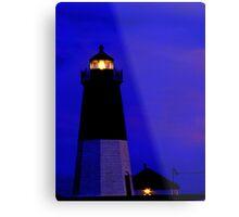 Point Judith Lighthouse, RI, USA Metal Print