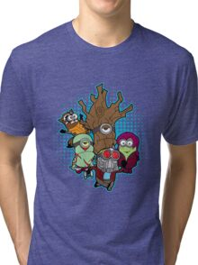 Galaxy Minions Tri-blend T-Shirt