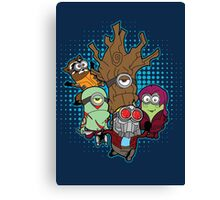 Galaxy Minions Canvas Print