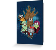 Galaxy Minions Greeting Card