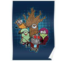 Galaxy Minions Poster