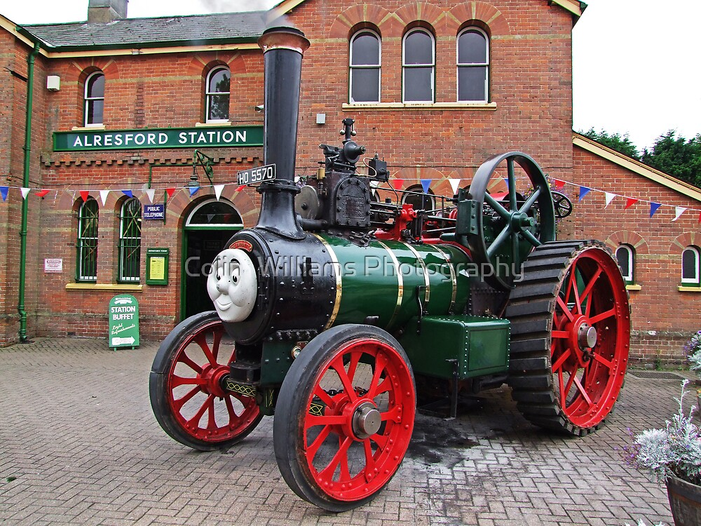 """Trevor"" The Traction Engine by Colin  Williams Photography"