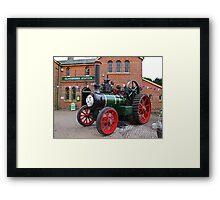 """""""Trevor"""" The Traction Engine Framed Print"""
