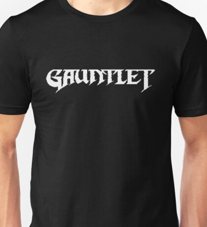 Gauntlet - NES Title Screen Unisex T-Shirt
