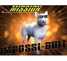 Impossi-Bull! Photographic Print
