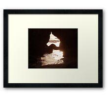 """Opening to Ocean"" Framed Print"
