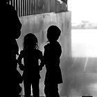 Girls on Ships man the hoses by ragman
