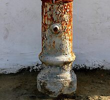 Typical Roman fountain by orsinico