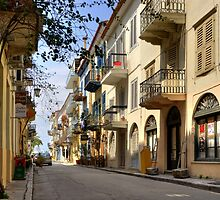 Nafplio - Old Town by George Parapadakis (monocotylidono)