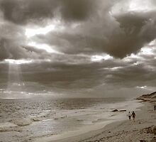 Winters Afternoon At Burns Beach Western Australia by EOS20
