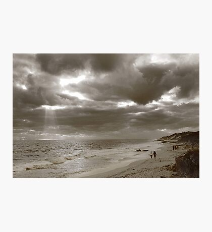 Winters Afternoon At Burns Beach Western Australia Photographic Print