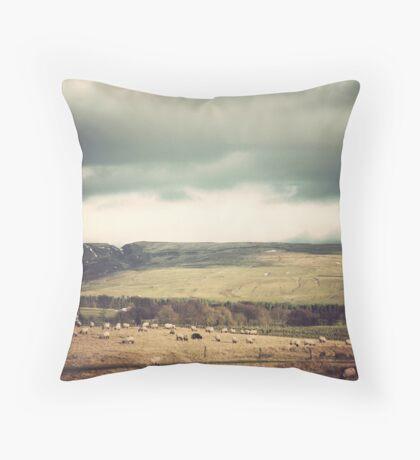 Vintage Hills Throw Pillow