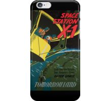 Space Station X-1 iPhone Case/Skin