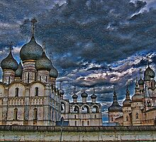 The Kremlin and The Cathedral. Rostov Velikiy. Russia. by vadim19
