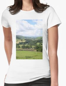 Yorkshire. Womens Fitted T-Shirt