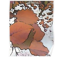 Pear Tree Fall - Graphic Poster