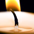 Light of the burning candle by Tenee Attoh