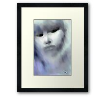 Face of the Storm Framed Print