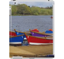 Boats and their Numbers  iPad Case/Skin