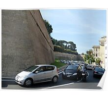 The Vatican State From the Outside Poster