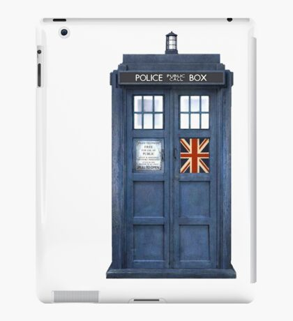 Police Box Union Jack iPad Case/Skin