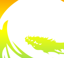 Colorful Eragon Sticker