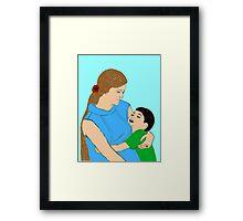 My Precious Son  Framed Print